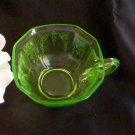 3182 Hocking Green Princess Tea Cup