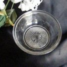 2240 US Glass Starred Nappy Ramekin Bowl