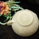 1903 Imperial Milk Glass Grape One Handled Bowl