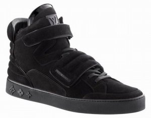 Louis Vuitton Black Sneakers