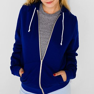 American Apparel F497 Extra Large Lapis