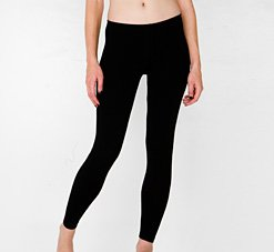 American Apparel 8328 Extra Small Black