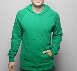 American Apparel 5495 Small Kelly Green