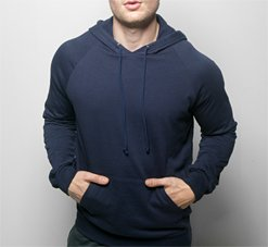 American Apparel 5495 Large Navy
