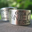 Custom Goose, Duck Band Ring . sterling silver . for the avid hunter . ring sizes 10 and larger