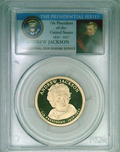 2008S PCGS PR69DCAM proof A Jackson dollar LImited Ed