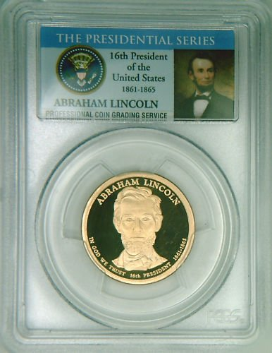2010S PCGS PR69DCAM proof ABE LINCOLN dollar Limited Ed