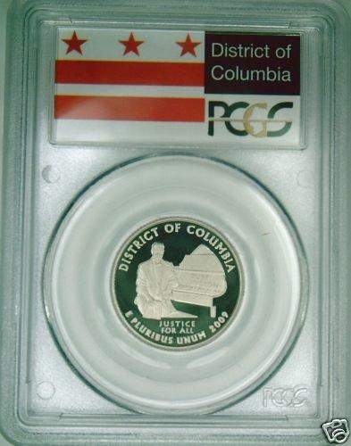 2009-S Washington DC quarter PCGS PR69DCAM proof FLAG