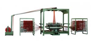 The Type Of  WYZ-750×4 Mesh Woven Sacks Loom Machine