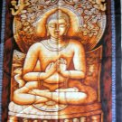 Shakyamuni Buddha Batik Wall Hanging Buddhist Tapestry Indian Vintage Home Decoration Art