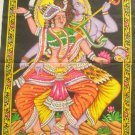 Celestial Dance  Shiva  Parvati Wall Hanging Decor Hindu Tapestry Indian Home Decoration Art India