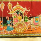 Rajasthan Royal Wall Hanging Large Sequin Cotton Tapestry Vintage Home Decoration India Art