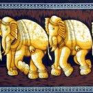 Batik Indian Elephant Wall Hanging Tapestry Ethnic India Home Decor Rajasthan Decoration Vintage Art
