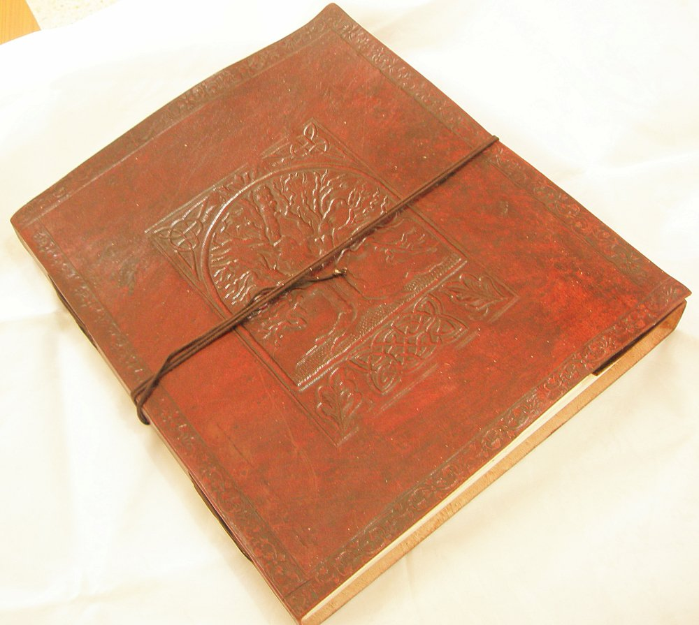 Celtic Tree of Life Handmade Leather Journal Blank Personalized Diary Sketchbook Vintage  Notebook