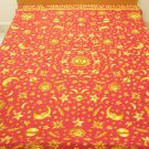 Red Sun Tapestry Indian Print Bedding Sofa Throw Hippie Decor Beach Blanket Vintage Decor India