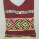 Handmade Hippie Bohemian Style Cross Body Messenger Sling Bag Cotton Fabric Vintage India
