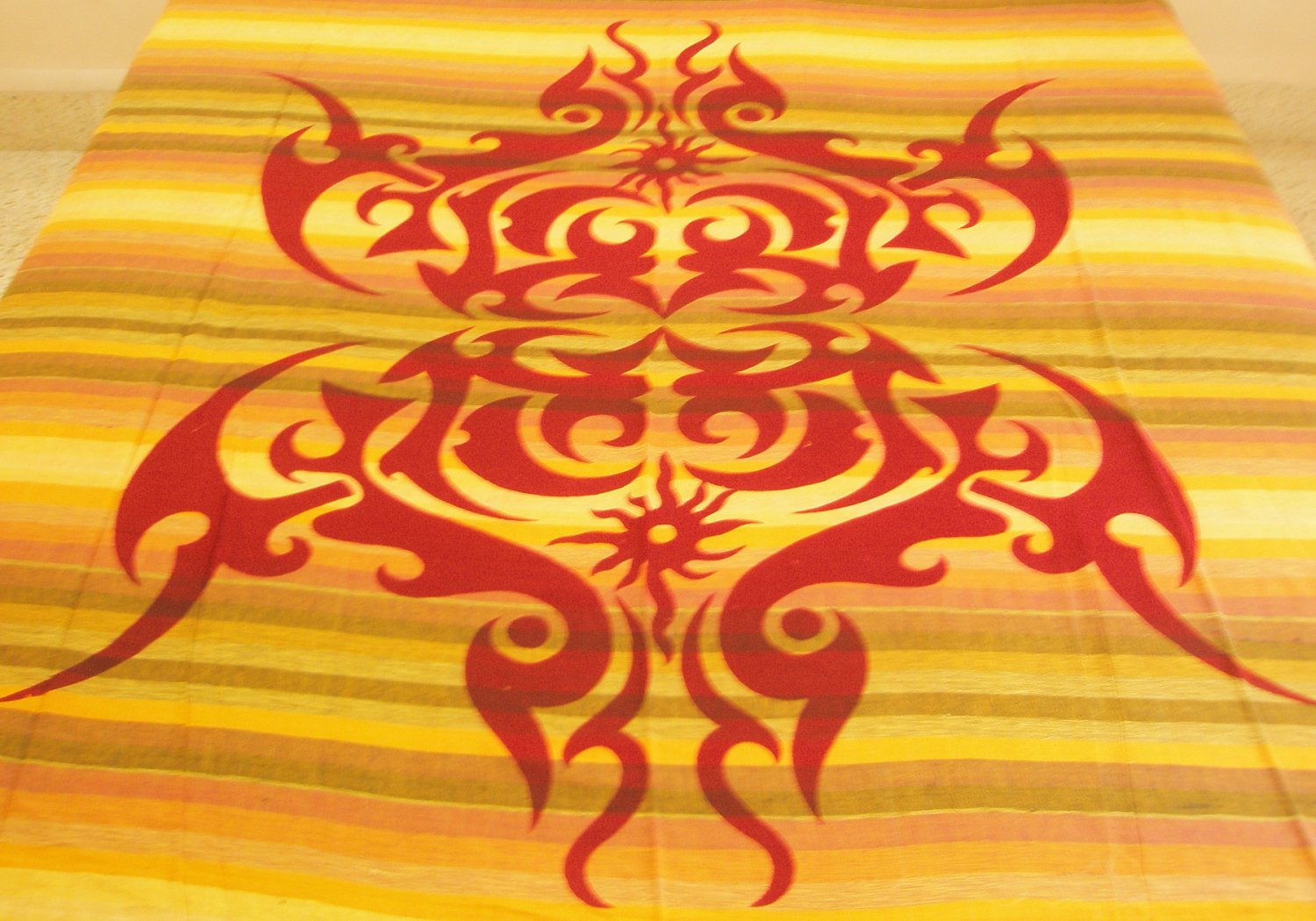 Celtic Cotton Bedspread Queen Coverlet Wiccan Pagan Wall Tapestry Large Beach Blanket Bohemian Decor