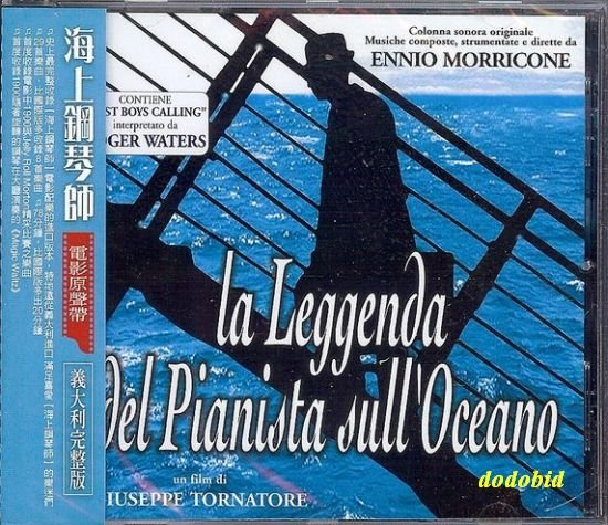 OST Legend Of 1900 CD+8 [29 tracks] ENNIO MORRICONE New