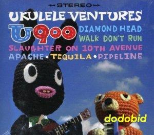 U900 Ukulele Ventures 2011 [CD+DVD] New Sealed
