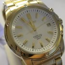 NEW SEIKO Mens GOLD Perpetual Calendar DIVER Watch $895