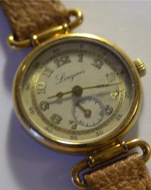 LONGINES Ladies SWISS Made GOLD Quartz 11Jewels $995 NR