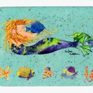 Blonde Mermaid Mouse Pad Hot pad trivet 8336MP