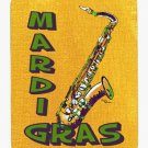 Mardi Gras Saxaphone  Mouse Pad Hot pad trivet 8366MP