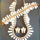 Matisse Copper Necklace Bracelet Earrings Peter Pan 9259