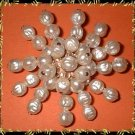 Baroque Pearl Pin Vintage 1940's Hand Made Brooch 8953