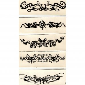 "5.25"" Armband Tattoo"