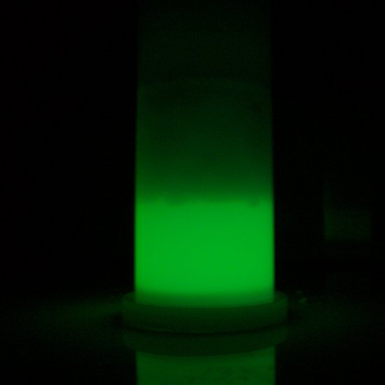 CLEARANCE!!! 1.5 oz. Green Glowing Shot Glass