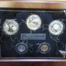 2000 Kiribati 5 Piece Proof Millennium Set