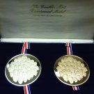 Franklin Mint Bicentennial Medal Set In Box