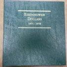 Littleton Book Of Eisenhower Dollar's 1971-1978