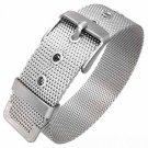 Steel Mesh Belt Buckle Wristband Bracelet
