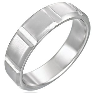 Stainless Steel Ring - Size 9