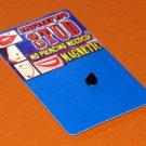 Magnetic Black Spike Ilusion Fake Lip Ring