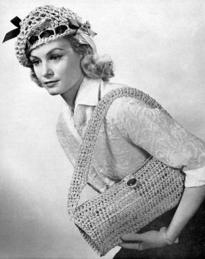 Vintage Hat Patterns Sewing Patterns Crochet by kalliedesigns