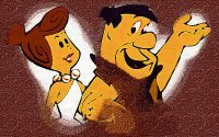 8x10 The Flintstones