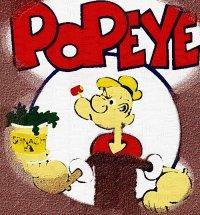 8x10 Popeye