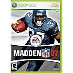 Madden NFL 07 Xbox 360