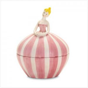 Ballerina Trinket Box