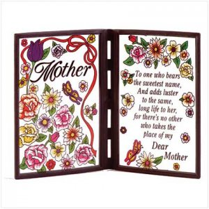 Poetic Plaque to Mom