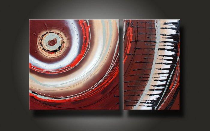 Modern Abstract art oil painting (+Framed) XLMD-004
