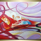 Huge Mordern Abstract Wall Decor Art Canvas Oil Painting (+ Frame)  XD1-027