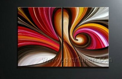 Huge Mordern Abstract Wall Decor Art Canvas Oil Painting (+ Frame) XD2-022