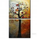 Mystic Tree Blossom ~ Framed! Modern Wall Decor Art Landscape Huge Oil Painting On Canvas XD2-072