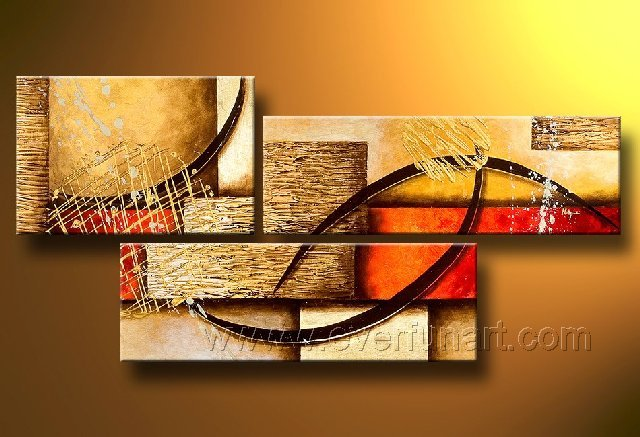 Huge Mordern Abstract Wall Decor Art Canvas Oil Painting (+ Frame) XD3-0010