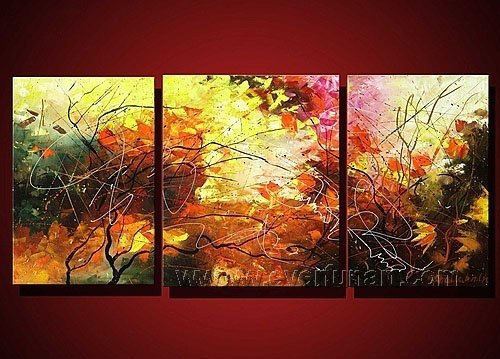 Huge Mordern Abstract Wall Decor Art Canvas Oil Painting (+ Frame) XD3-023