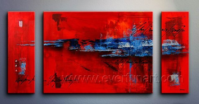 Huge Mordern Abstract Wall Decor Art Canvas Oil Painting (+ Frame) XD3-030